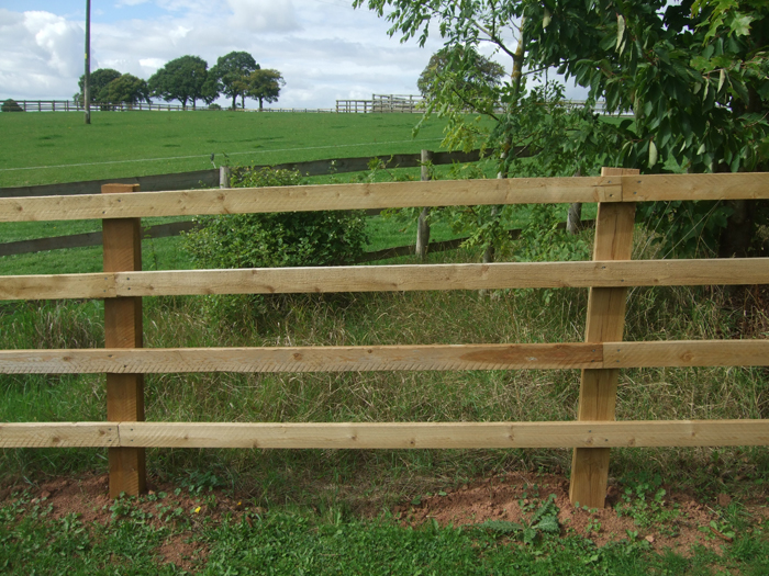 Post Amp Rail Fencing Fencing Posts Herefordshire
