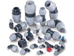 Plastic Pipe Water Fittings